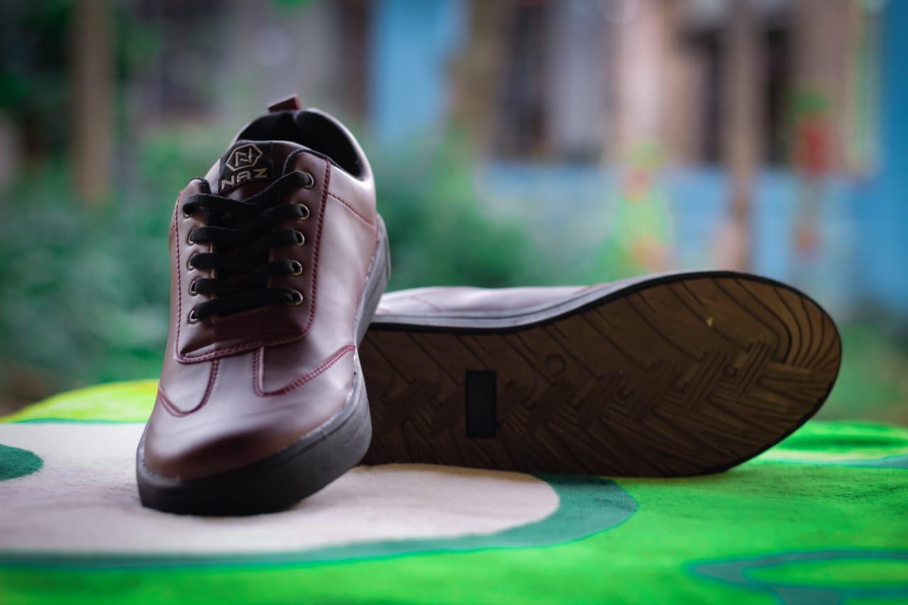 Sepatu Pria Kets Sneaker Original Brand Lokal Naz Shoes Sapatu New