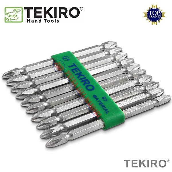 Tekiro Double Ended Screwdriver Bits / Mata Obeng Angin Sekrup Gipsum 65mm PH1