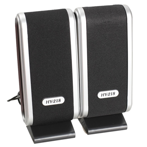 2 Pcs USB Computer Speakers Portable Speaker Stereo 3.5mm with Ear Jack for Desktop PC Laptop Malaysia