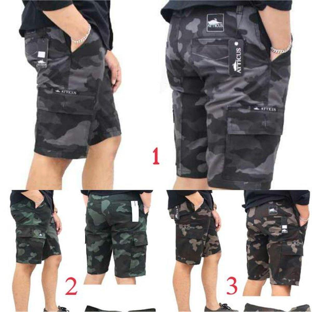 Celana Cargo Pendek Pria LOKOMOTIF. celana loreng kargo pendek pria ORIGINAL premium