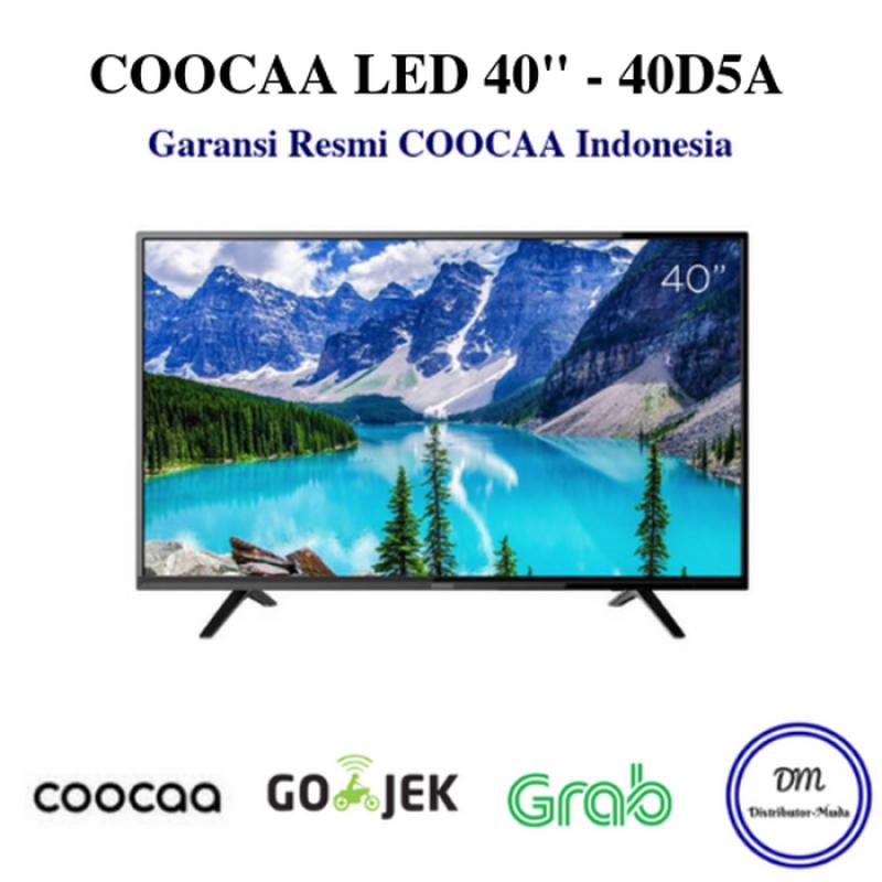 TV Coocaa 40 inch LED FULL HD Hitam model 40D5A