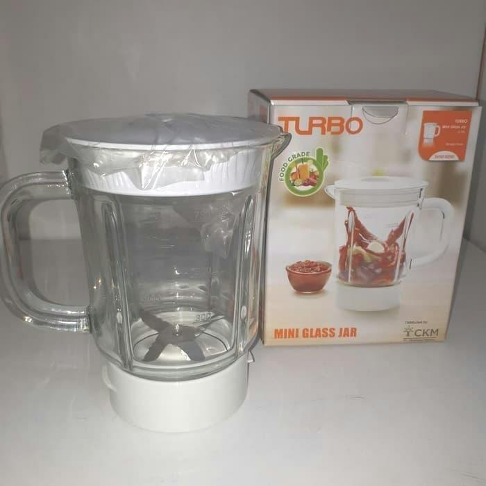 Mini Jar Gelas Bumbu Turbo 0.75L Philips Blender 2115 2116 2061 2071