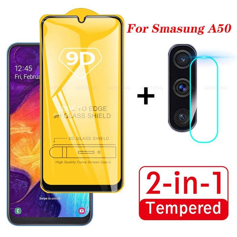 Decorum Paket Tempered Glass Layar dan Kamera Samsung A50, A50s 2019