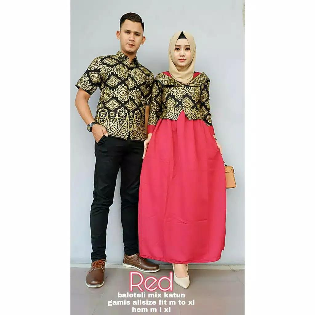 TERMURAH - Batik Couple / Couple Batik / Baju Muslim Wanita Terbaru 2018 / Batik Murah / Batik Sarimbit / Baju Batik Couple Modern / Batik Kondangan / Batik Keluarga / Batik Pekalongan - Batik Belvania Shiren