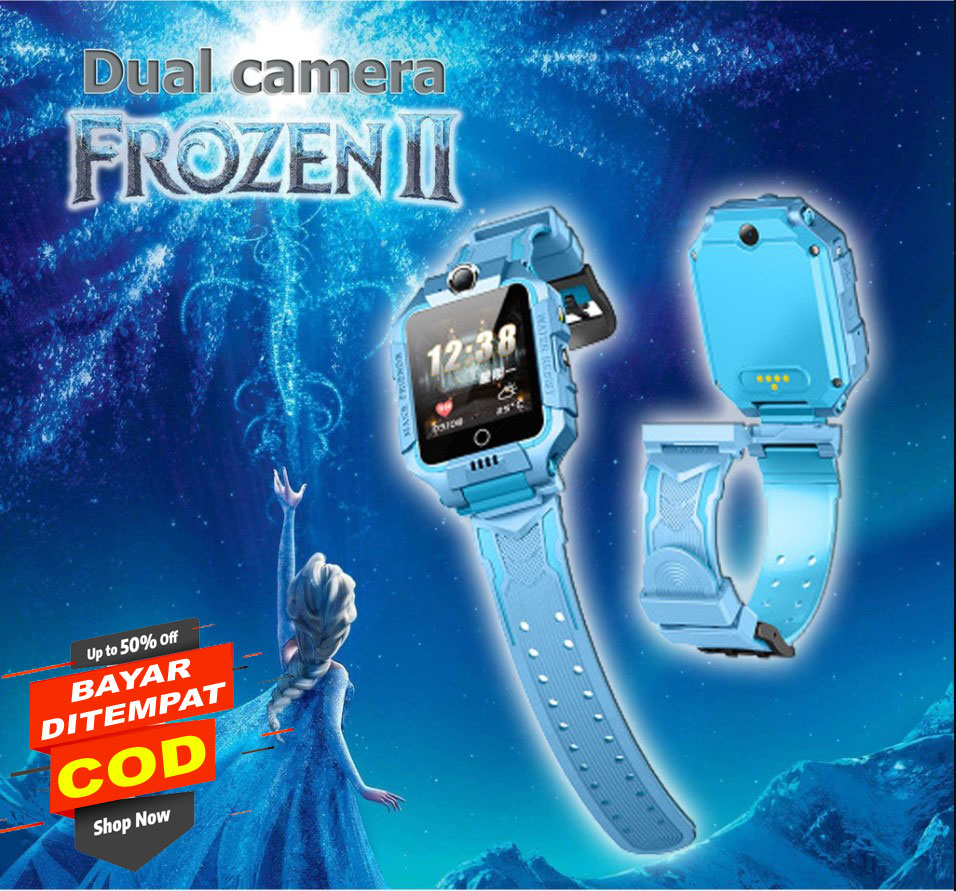 Z6 NEW Dual Camera Putar 360 SIM Card GPS Smart Watch Anak Anti Air Smartwatch Tahan watch phone JAM TANGAN PINTAR ANAK WATCH PHONE ANDROID KIDS BISA TELFON CAMERA GPS JAM IMO NO Z5 Z6 SMARTWATCH a IMOO, IMO 2 CAMERA BAYAR DI TEMPAT - SMART ORIGINAL