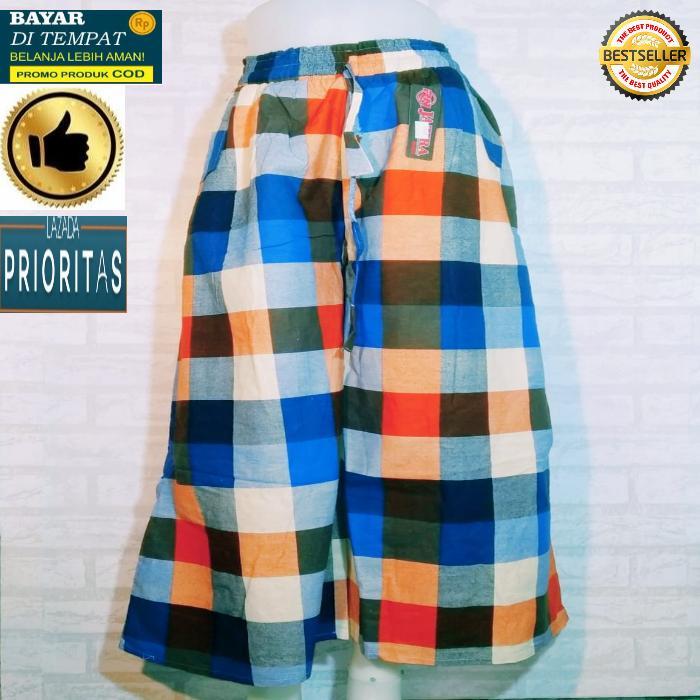 New Celana kulot Muslimah / celana kulot panjang kotak naura maura bahan cigaret