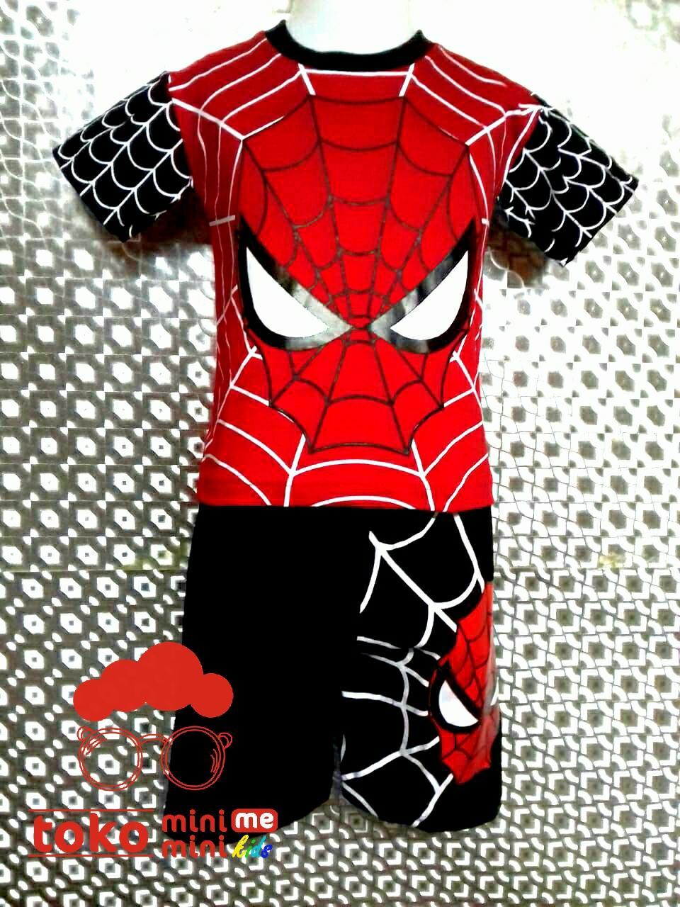 miniME - Setelan Anak Karakter Spiderman 001 4090774f13