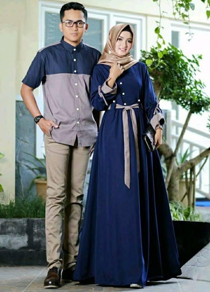 Baju Gamis Baju Muslim Baju Batik Baju Couple Batik Fashion Wanita Muslimah 28236133fe