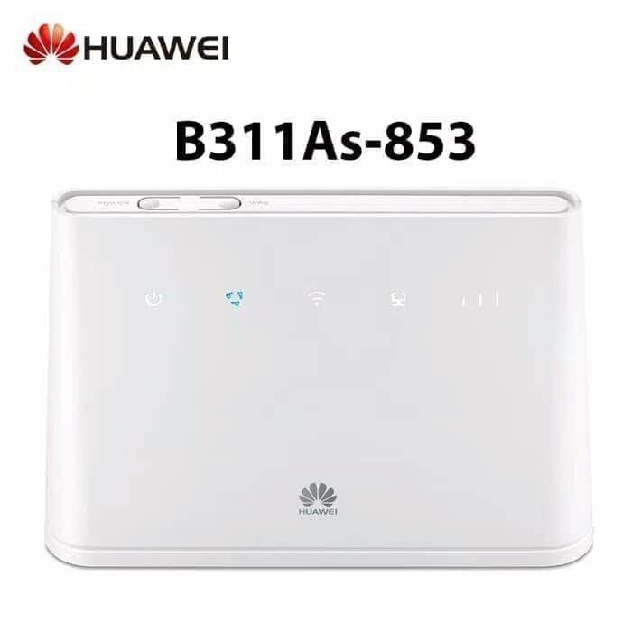 Modem Router Huawei B311 UNLOCK 4G LTE - Bonus Perdana Telkomsel - Putih