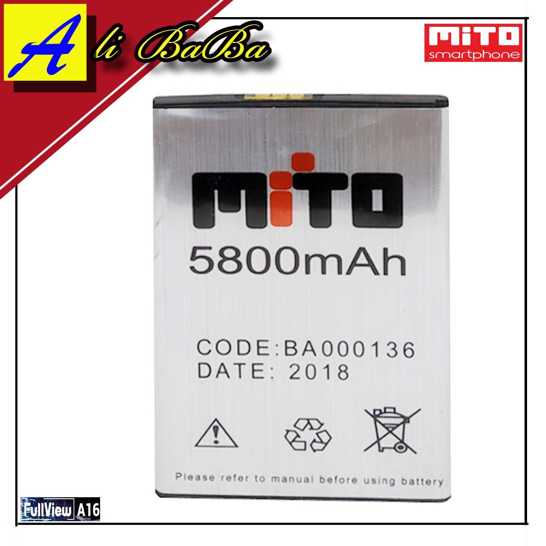 Baterai Handphone Mito Full View A16 BA-00136 Double Power Mito A16 Batre HP Mito