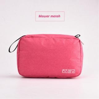 [SIP STARMALL] Tas Travel Portable Multifungsi Tahan Air Tas Kosmetik Makeup Perlengkapan Mandi 10087 88 147 thumbnail