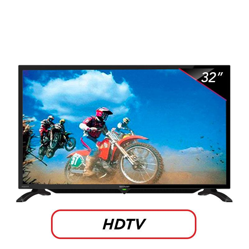 Sharp 32 inch LED HD TV - Hitam (Model LC-32LE180i)
