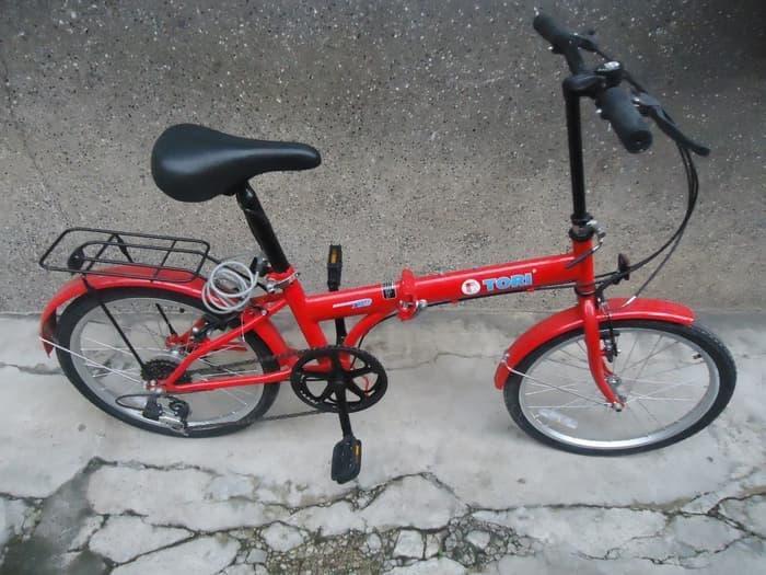DISKON  Sepeda Lipat merk TORI 16 Terlaris