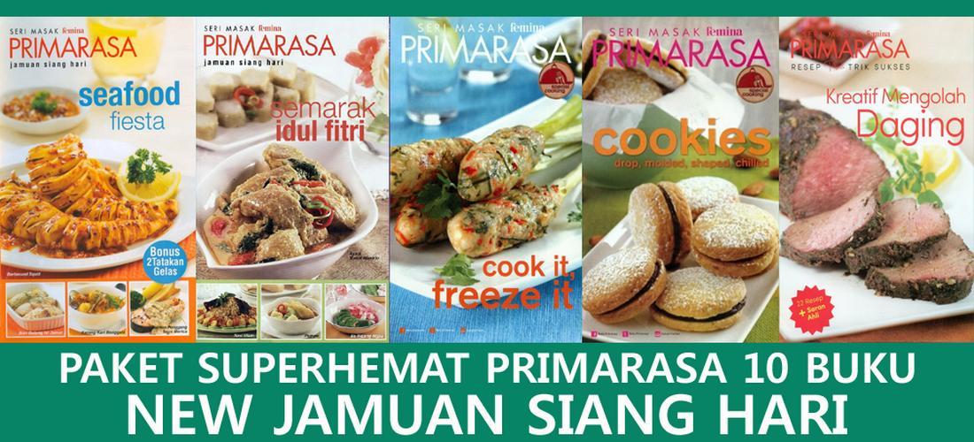 New Jamuan Siang Hari Paket Superhemat Primarasa 10 Buku By Feminagroup.