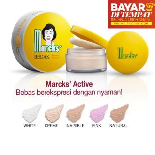 Bedak Marcks Active Beauty Powder Bedak Tabur 20 Gr Bedak Tabur Loose Powder Marcks beauty powder Bedak Jerawat BISA COD BAYAR DITEMPAT thumbnail