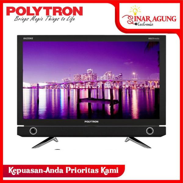 POLYTRON LED TV 22 Inch HD - PLD22D9500 GARANSI RESMI- (FREE PACKING KAYU) (DIJAMIN 100% ORI)