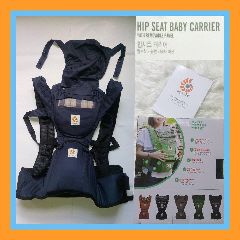 bb926d61bd0 Griyabayi Ergobaby Hip Seat Carrier Gendongan Bayi