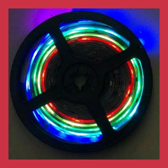 LAMPU LED RGB ROLL 5 METER 12 VOLT