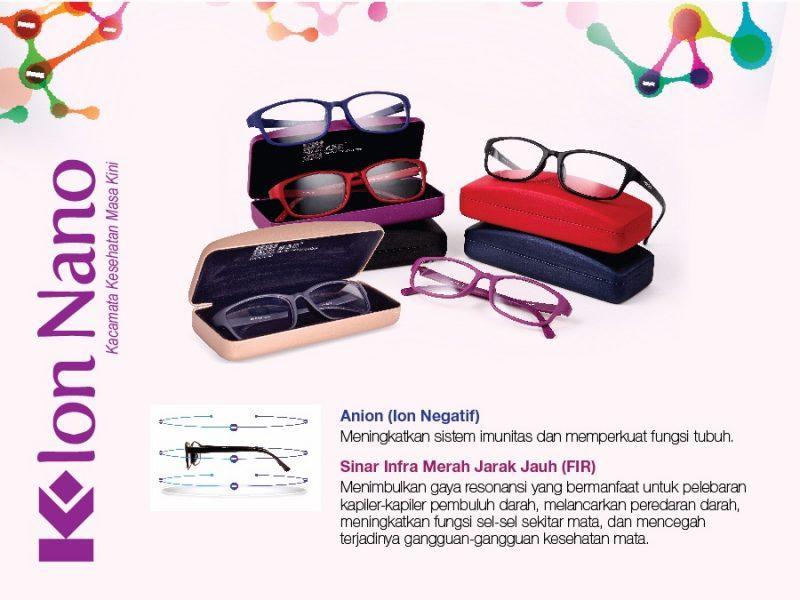 Bisa Bayar Ditempat (cod) Warna Terlengkap Original Kacamata K-Ion Nano // Kacamata Terapi K-Link By Sehat_kaya.