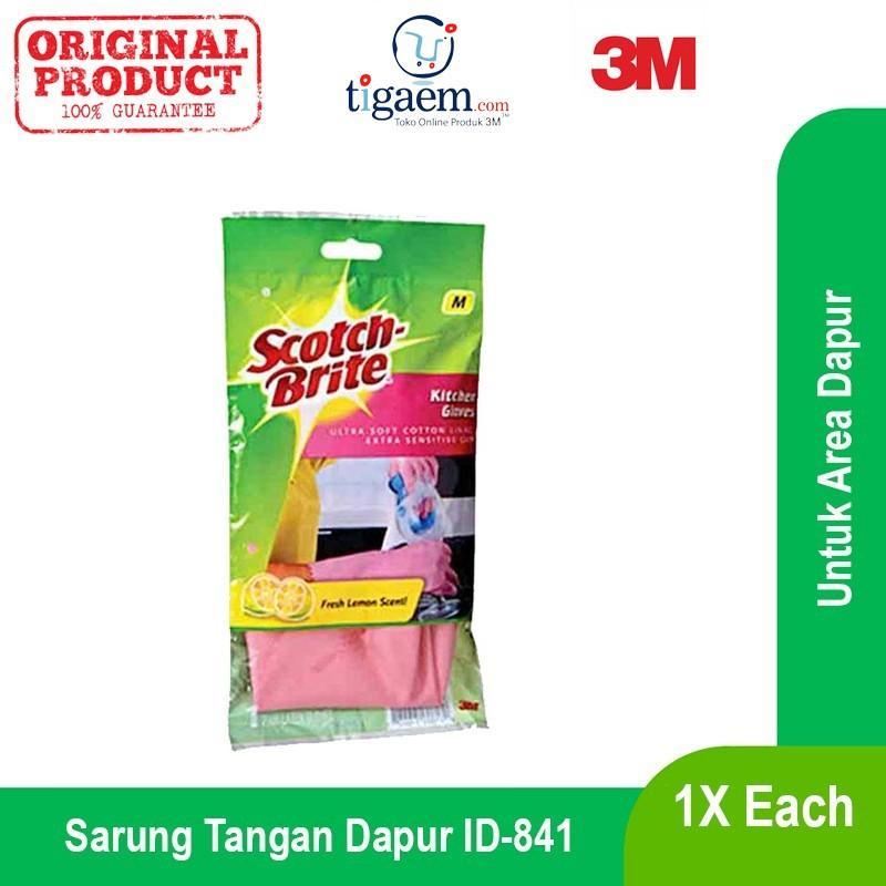 3M Scotch Brite ID-841 Sarung Tangan Dapur 3 Size SML - 1 Each