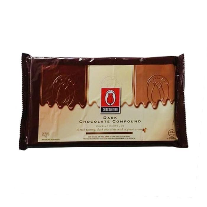 Tulip 1Kg Dark Compound Coklat Dcc