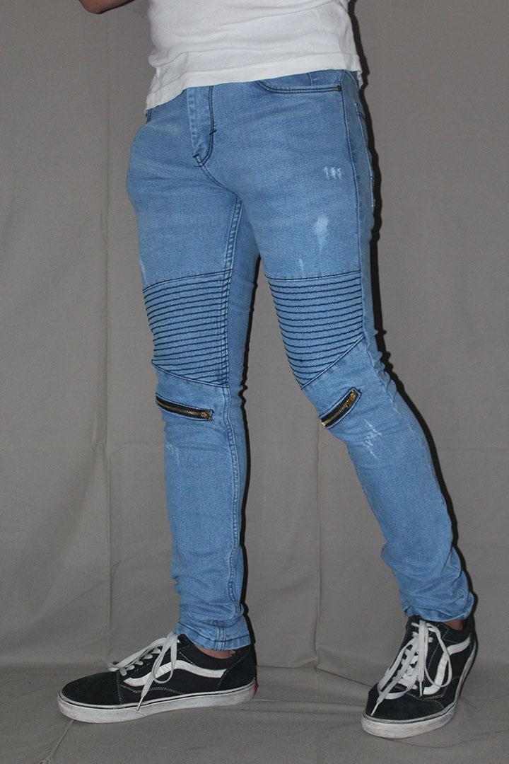 DENIM STORE 182 Jeans Biker Premium Quality Super SoftJeans Skinny / Biker Jeans Premium Super Soft Skinny Stretch / biker resleting