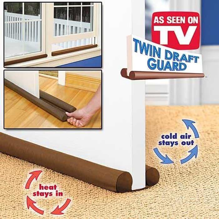 Twin Draft Guard Dust Heat Stopper / Penahan Udara Dan Debu By Grosirkemeja.