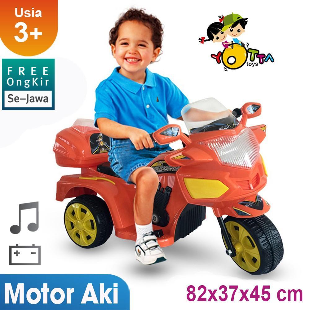 Motor Aki Anak Gratis Ongkir Full Khusus Pulau Jawa Motor Aki Halilintar Ocean Toy Yotta Ride On Mainan Anak By Ocean Toy.