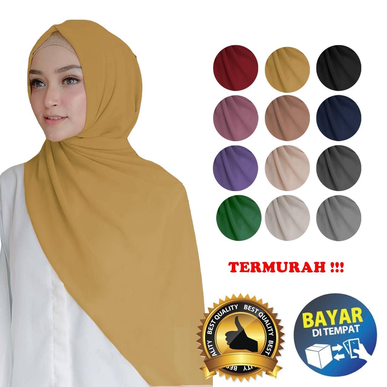 Hijab Kerudung Pashmina Tiara Diamond Italion  / Jilbab Pasmina Panjang/ HIJAB TERMURAH / Hijab Nissa Sabyan Hijab Masa kini/ Terlaris & Termurah