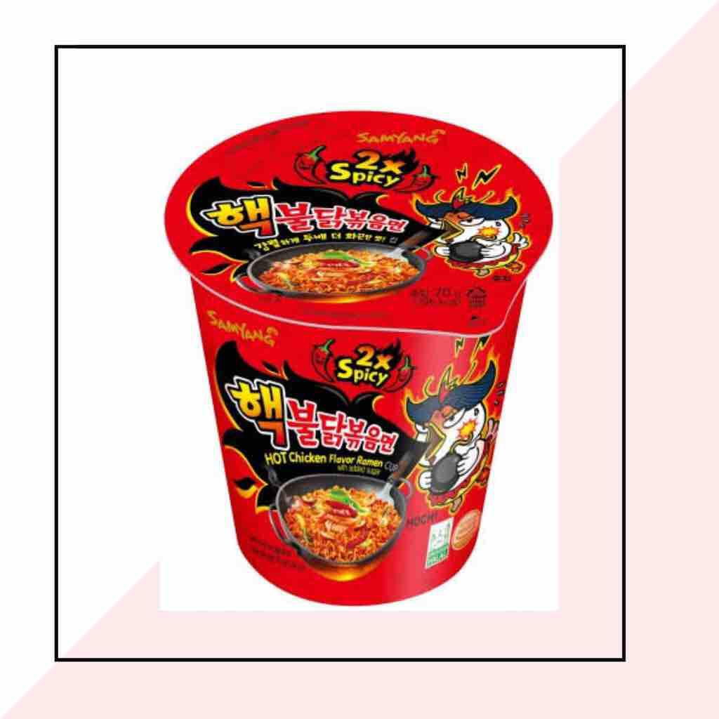 Samyang Hot Chicken 2xSpicy NUCLEAR 70g [ CUP ]