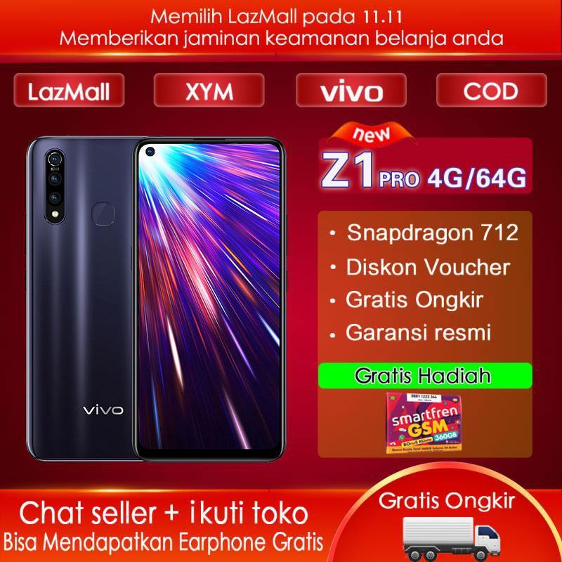 Vivo Z1 pro 4G/64G - COD,Gratis Ongkir,Snapdragon 712 AIE,Garansi resmi【 Please use the voucher 】Free Gift GSM 360GB