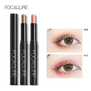 FOCALLURE Profesional satu eye shadow matte mudah dipakai pigmen tongkat kecantikan wanita nude eyeshadow pensil thumbnail