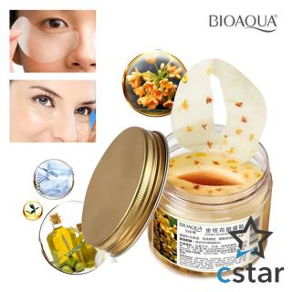 Bioaqua Masker Mata Bunga Osmanthus Kuning - Bioaqua Golden Eye Menghilangkan Mata Panda Kantong Mata Hitam thumbnail