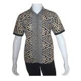 Jual Batik Solo Bo7001 Baju Kemeja Batik Pria Hitam Batik Solo Asli