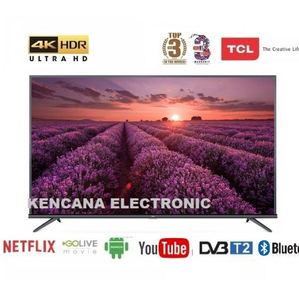 TCL L50P8M LED (50inch) SMART ANDROID TV -HDR- 4K UHD-WIFI  FREE ONGKIR Khusus JABODETABEK