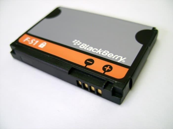 Baterai Blackberry FS1 F-S1 Torch 9800 9810 Original OEM Batre Batai Battery Dual High Handphone HP Ori Tourch BB
