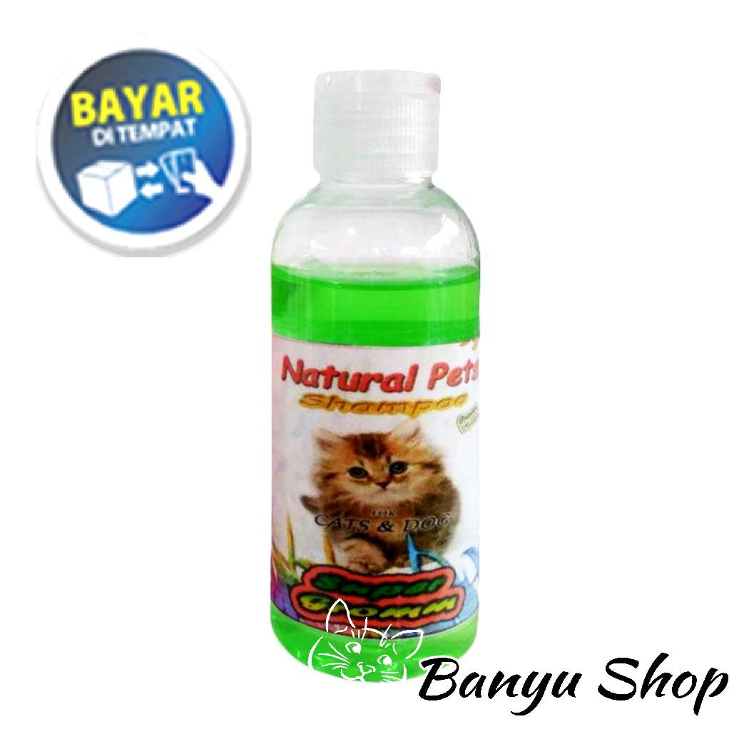 Shampo Kucing Anjing Anti Kutu Sampo Jamur Tic & Flea Segi Plus - Hijau Ukuran 50ml By Banyu Shop.