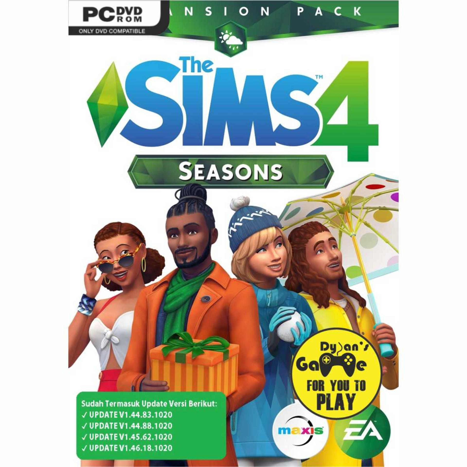 The Sims 4 Seasons (complete Pack) Game Pc By Dylansgame.