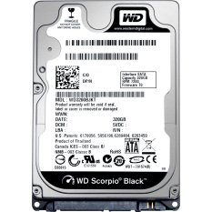 Western Digital Scorpio Black - 7200RPM - 500GB