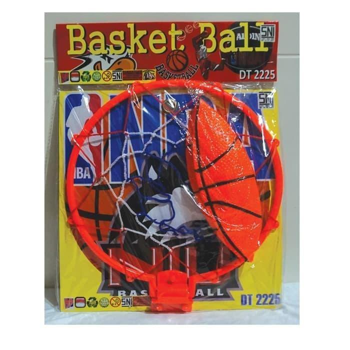 Mainan ring basket dan bola - Basketballl DT 2225