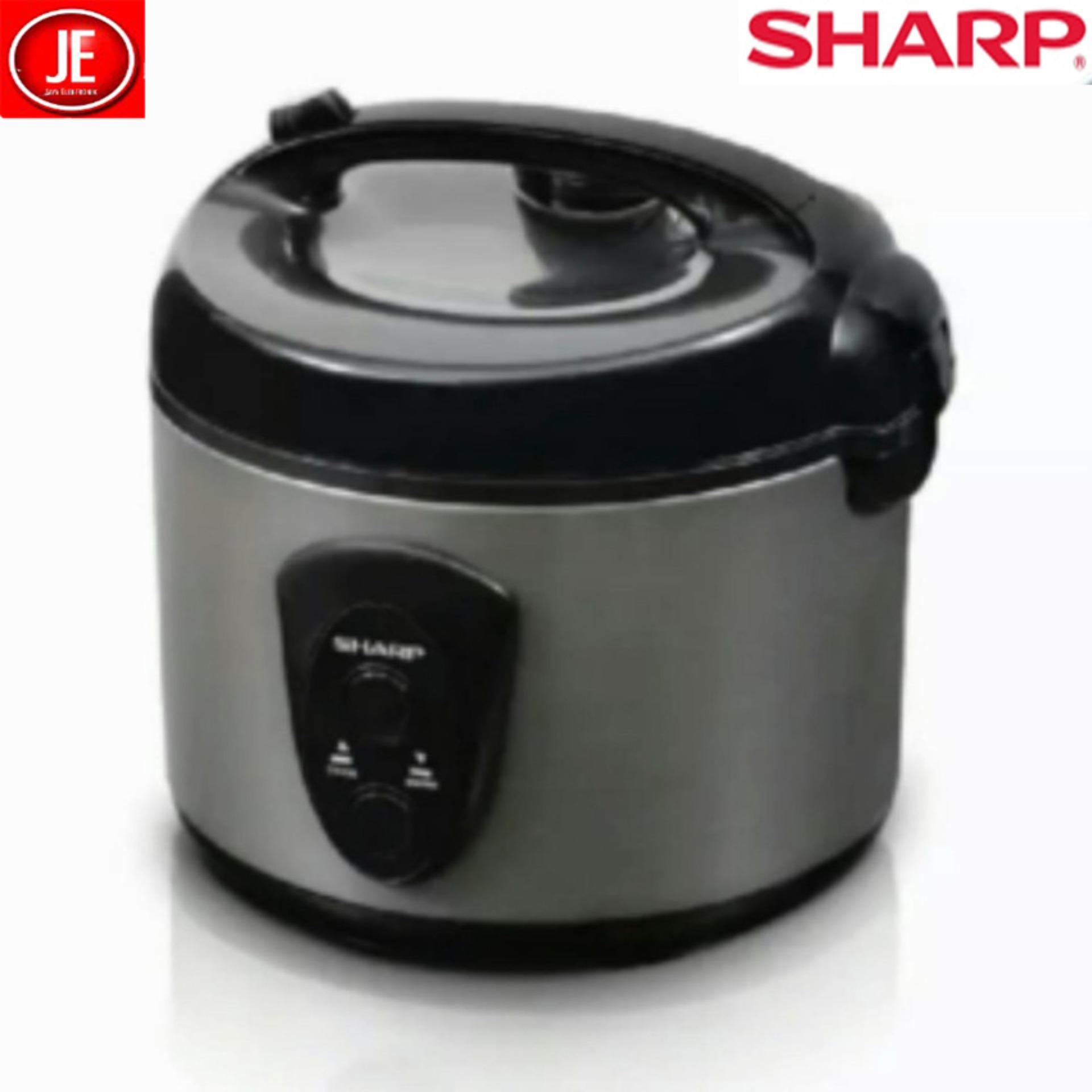 Sharp Rice Cooker KS-N18MG-SL (Silver) 3in1 1,8 liter