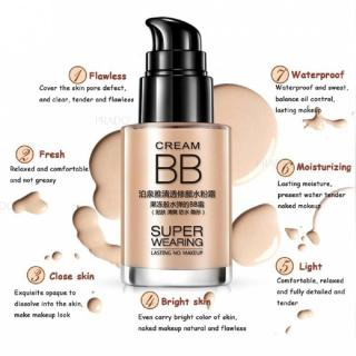 BB CREAM SUPER WEARING LASTING CONCEALER FOUNDATION MAKE UP BIOAQUA thumbnail