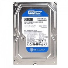 WD Harddisk Internal Sata Blue - 500GB