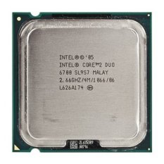 Intel Prosesor Core2Duo 2.66GHz Tray