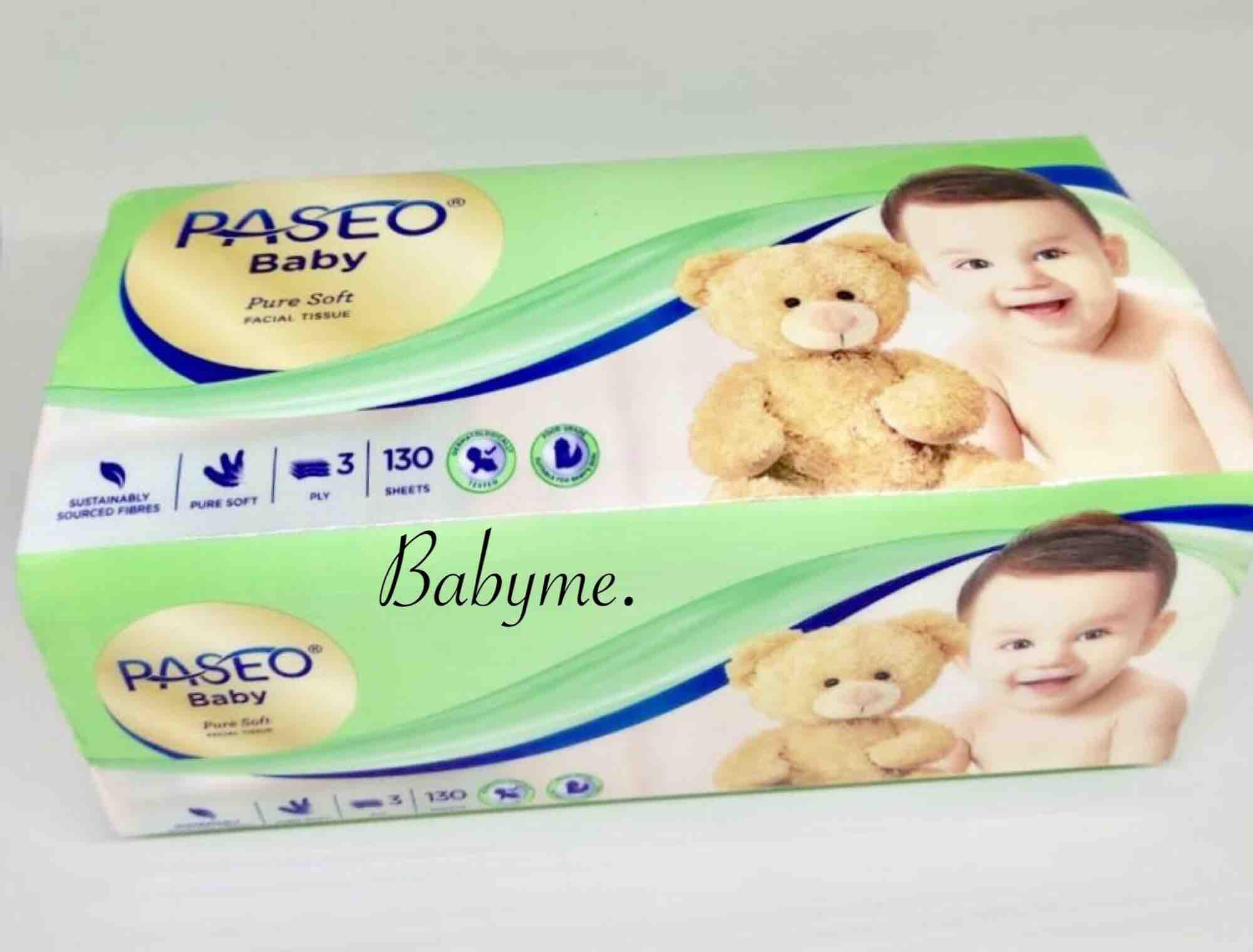 Tissue Tisu Paseo Baby 3ply 130sheet 1pcs By Babyme..
