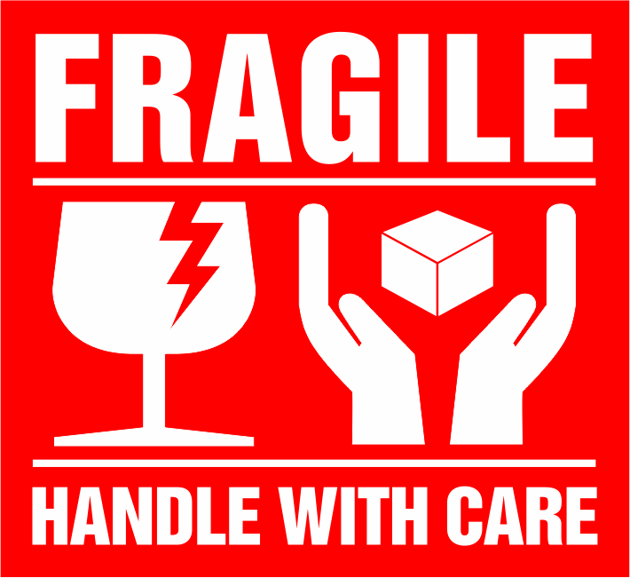 sticker label fragile handle with care stiker awas pecah 6 x 5 5 cm 100 pcs lazada indonesia sticker label fragile handle with care stiker awas pecah 6 x 5 5 cm 100 pcs