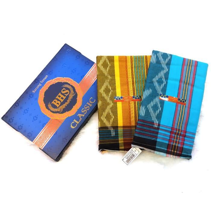 Terlaris  Sarung BHS Classic Original Murah Premium (ASLI) Bukan Afkir