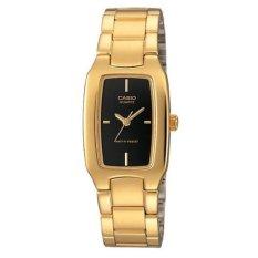 Beli Casio Analog Ltp 1165N 1Crdf Women S Watch Gold Black Online Murah