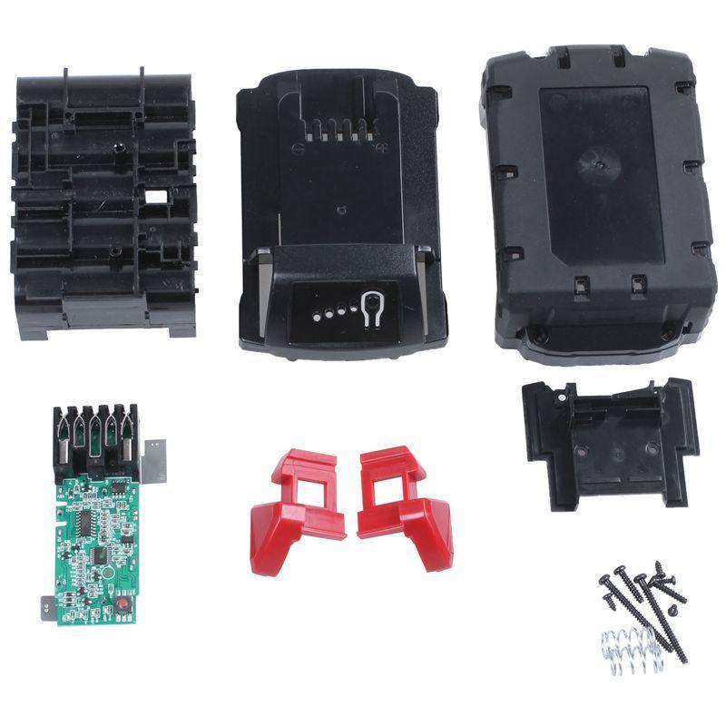 M18B Li-Ion Battery Plastic Case Charging Protection Circuit Board For Milwaukee 18V M18 48-11-1815 3Ah 4Ah 5Ah PCB Board Shell
