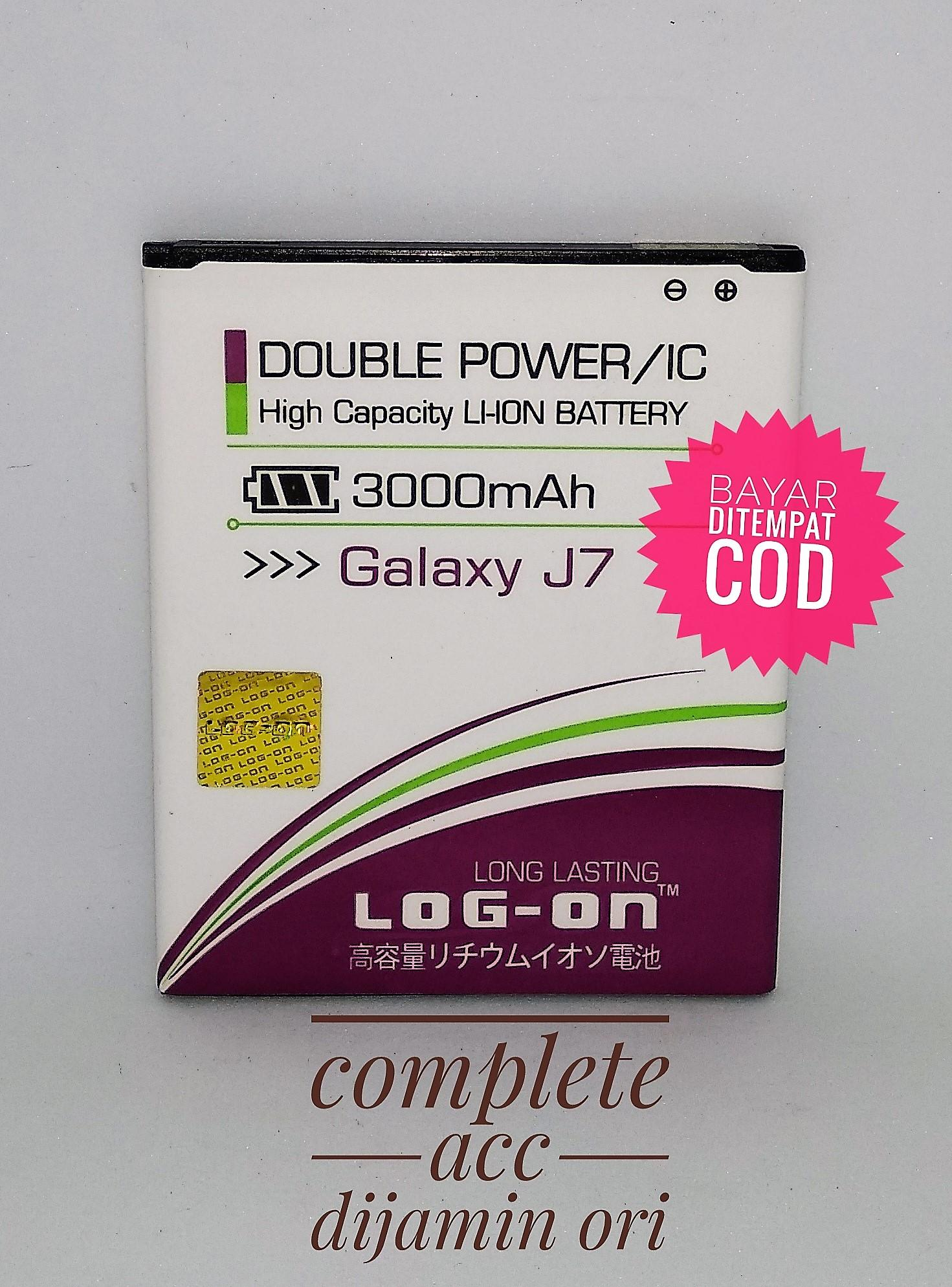 Baterai Battery Batre Samsung J7 / J4 Log on double power